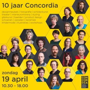 Officiële Flyer Jubileum Concordia